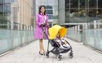 スタイリッシュ&赤ちゃんもママも快適! 東京ミッドタウンが選ぶ、理想のベビーカー「バガブー」