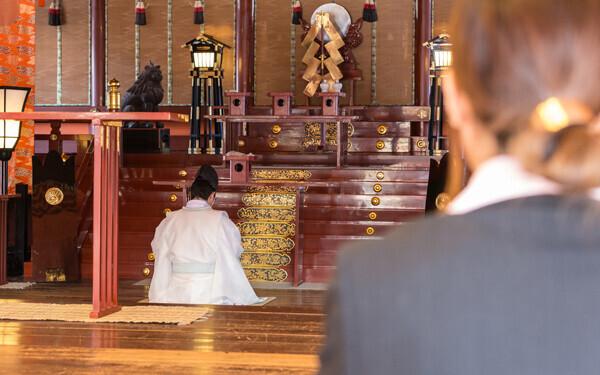お宮参りご祈祷