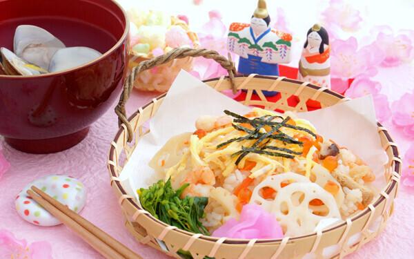 ひな祭りの食べ物・ちらし寿司