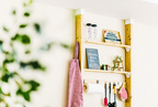 「ディアウォール」で賃貸でもおしゃれな壁面収納が簡単に! DIY実例&作り方を徹底解説