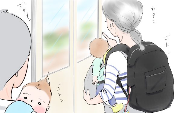 電車で見かけた、緊張と不安で張り詰めているママへ【笑いあり涙あり 男子3人育児 第26話】