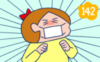 意識高い系!? 持久走大会前に風邪を引いた娘がすごかった【双子を授かっちゃいましたヨ☆ 第142話】