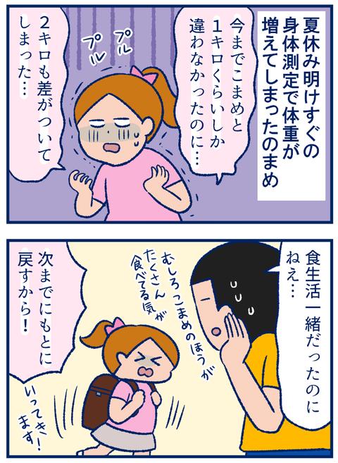 そりゃ敏感になるよね…小学生の娘たちの「太った痩せた」問題【双子を授かっちゃいましたヨ☆ 第190話】