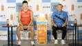 「足が速くなるコツ」を陸上の桐生選手が直伝!笑福亭鶴瓶さんと楽しむ「スポーツにも、むぎ茶!キャンペーン」