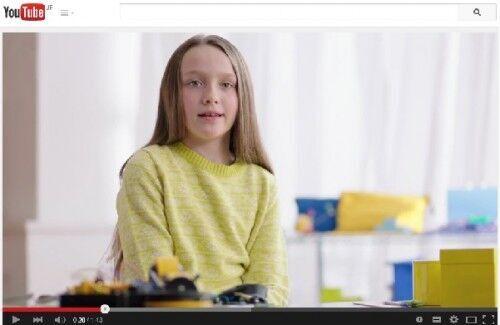 理系の天才少女たちが出演するマイクロソフト社のCMが話題