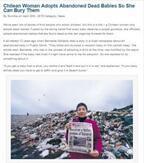 亡くなった子を自らの養子に 赤ちゃんがゴミ山に捨てられる国で法律を変えた女性