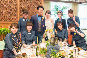 ドレスコードが「デニム」の結婚式