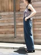 夏のレイヤードコーデは軽やか&涼しげが鍵!今年っぽい重ね着って?