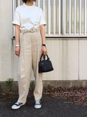 AURALEE | スタンドアップ Tシャツ WOMEN(Tシャツ・カットソー)¥14,040 AURALEE Tシャツ・カットソー (ホワイト系)