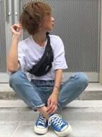 【自分に合う白Tシャツの選び方】二の腕・肩幅など体型のお悩み別!