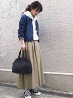 2018秋はパンツ<スカートが大多数。パンツ派さんのスカートコーデは何が正解?