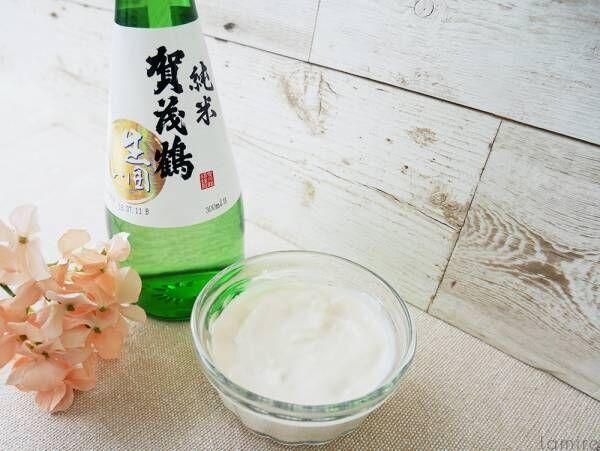 手作り日本酒化粧水&酒粕パックで白肌美人に♡効果&作り方レシピ