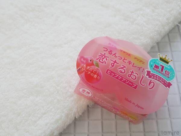 お尻専用も♡女子がこっそり買ってるユニークな固形石鹸が気になる!