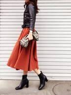 ミモレ丈スカート×コートのバランスってどう取る?しっかりキマる法則とは