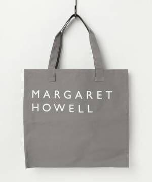 マーガレットハウエルのグレーのトートバッグ