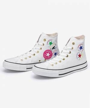 ALL STAR WEARABLE STICKER HI のホワイト