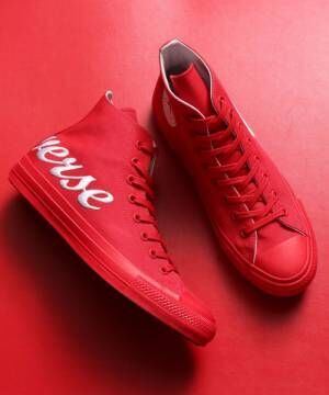 ALL STAR 100 LOGOEMBROIDERY HIのRED