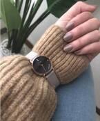冬ならではのおしゃテク♡《ニットON腕時計》がこなれるってウワサ!