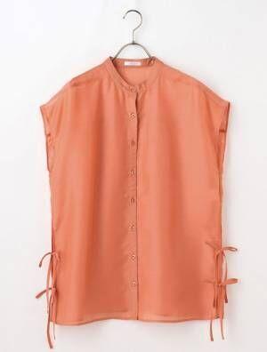 ハニーズの脇リボンシアーシャツ