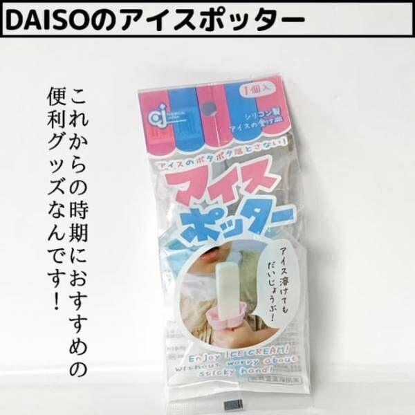 ダイソーのアイスポッター