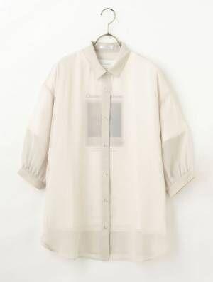 ハニーズのTシャツ付シアーシャツ