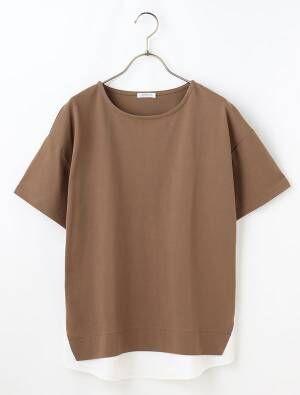 ハニーズの裾レイヤード風Tシャツ