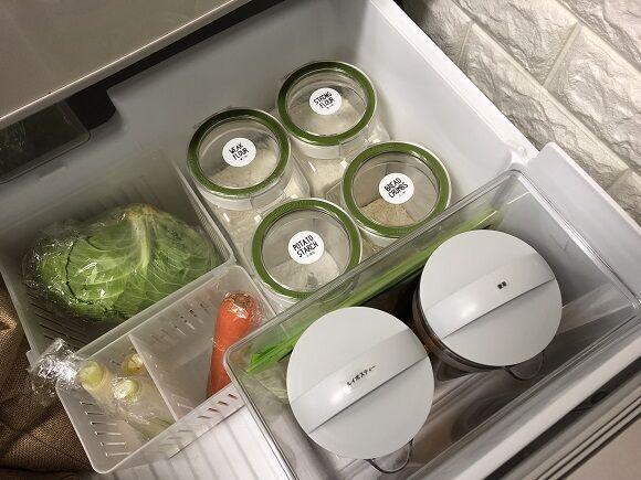 写真でわかる冷蔵庫収納アイデア