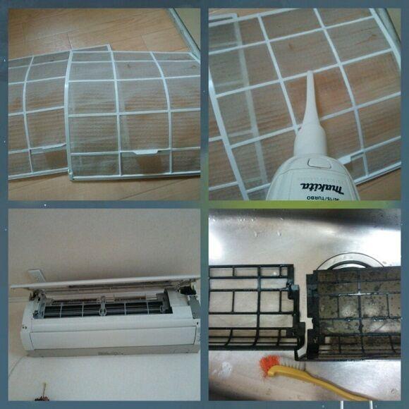 暖房器具 掃除2