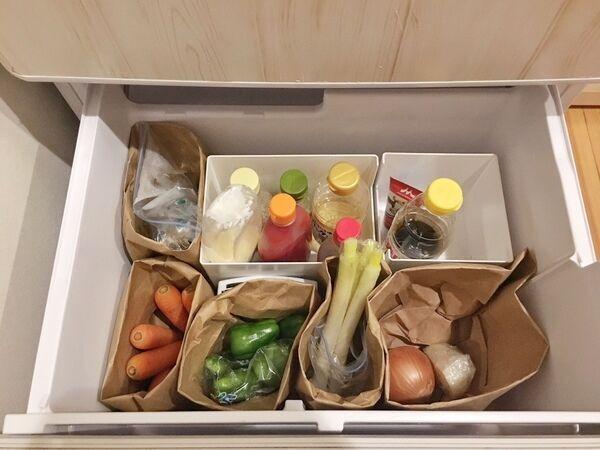 【冷蔵庫】冷蔵・冷凍・野菜室ごとに取り出しやすい収納方法