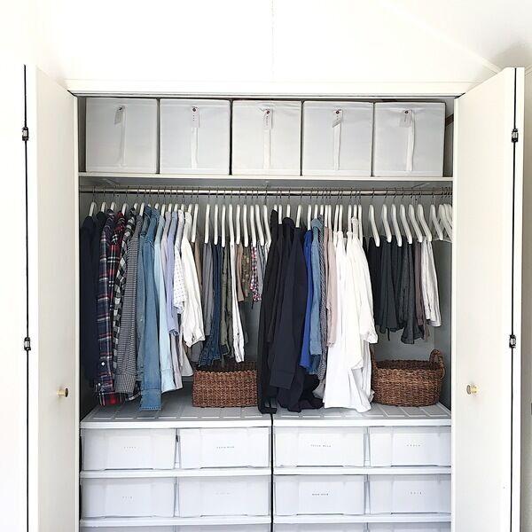 【クローゼット収納】衣替えの必要なしの処分術