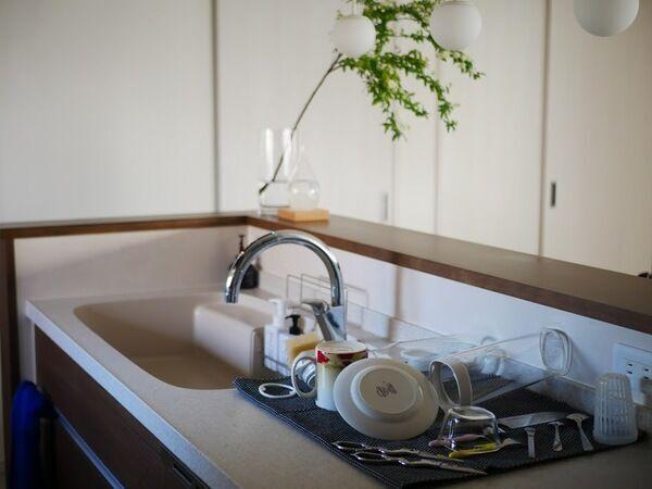 水切りかごにサヨナラ!ティータオルで食器の水切りするメリット