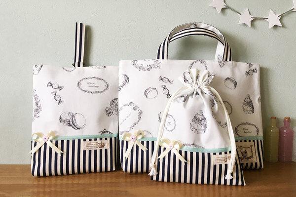 【入園・入学準備】かわいいお弁当袋・レッスンバッグ・シューズバッグまとめ