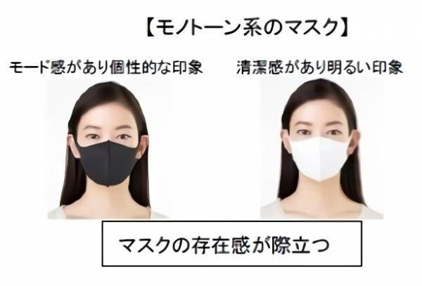 マスクの色で周りの印象がこんなにも変わる… あなたに似合うマスク色&メイク公開