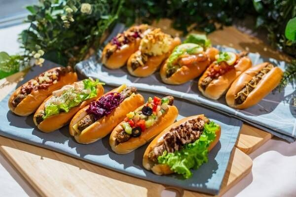 おいしそうすぎて選べない…! IKEA渋谷に「ベジドッグ」が種類豊富にラインナップ