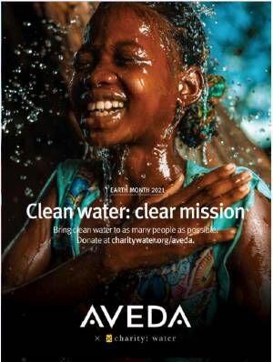 """今年も4月から始まります! アヴェダが""""きれいな水を守る""""チャリティー「アースデー月間」を開催"""