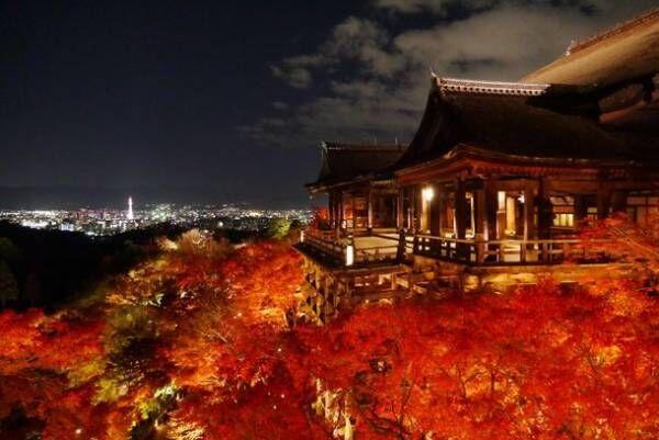 京都ブライトンホテルの宿泊プランで秋の夜長を満喫 清水寺・京都迎賓館の夜間貸切ツアー