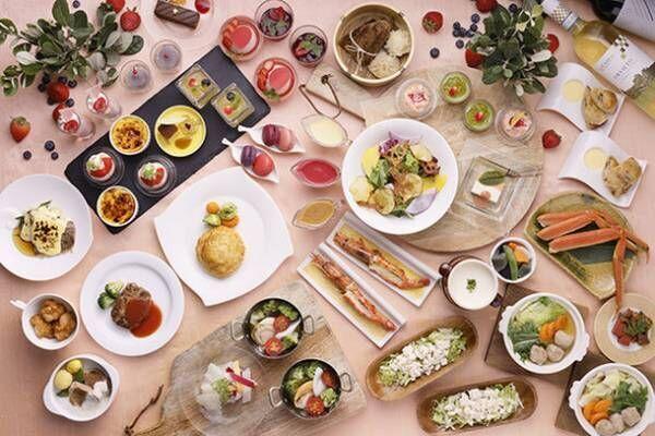 """琵琶湖ホテル『レストラン ザ・ガーデン』のディナービュッフェ""""滋賀食材で彩る 冬のあったかフェア""""着席スタイルのオーダービュッフェで冬の味覚を満喫"""