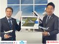 エールフランスKLMと旅工房、「SAFプログラム」の協力提携に合意 旅工房 旅行会社としてアジア初のパートナーへ 持続可能な航行に貢献 年内に推定36.3トンのCO2排出量削減を目指す